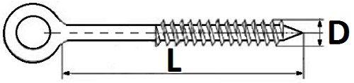 Крюк для строительных лесов 12х160 мм